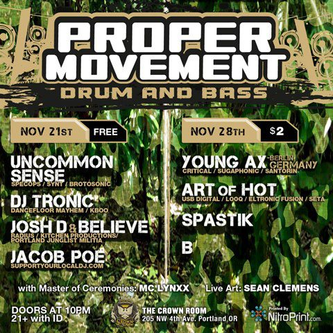 proper movement young ax spastik Proper Movement with Young Ax Recap