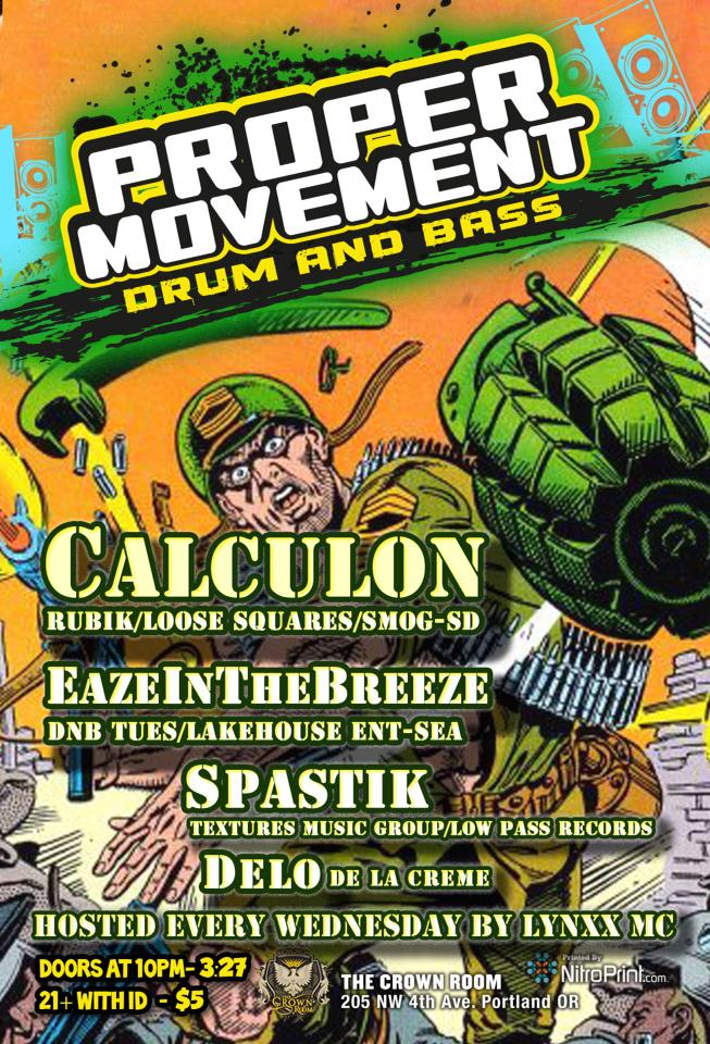 Proper Movement Calculon Flyer
